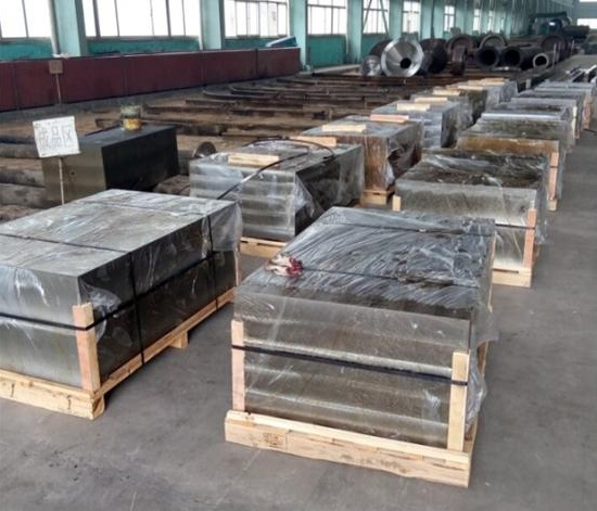 forged plate, block, mould