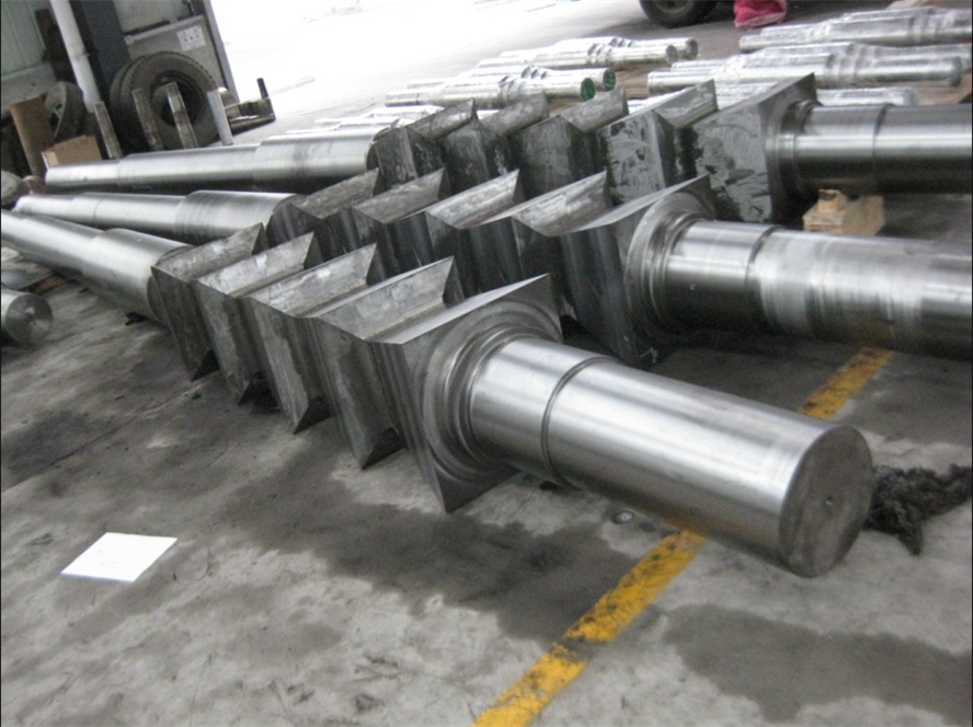 forged shaft, rotor, axle, round bar forgings